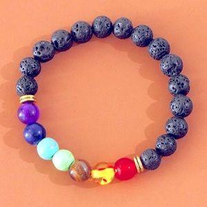 🌻 3/$20 🆕 Multicolour Stone Beaded Bracelet